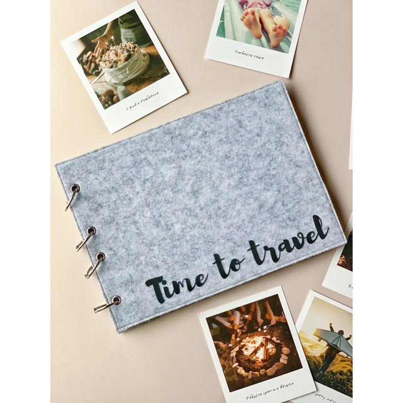 "Фотоальбом ""Time to travel"""