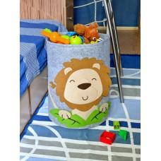 Корзина для игрушек «Львёнок» из фетра