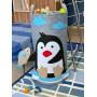 Корзина для игрушек «Пингвин» из фетра