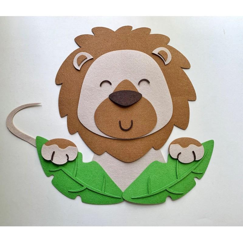 Подарочный набор «Львёнок» (Питомец из фетра)