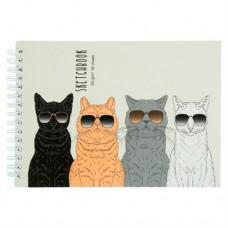"""Альбом для рисования """"Brutal cats"""""""