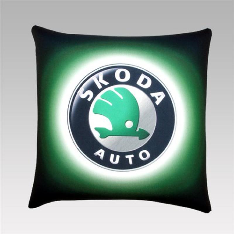 """Автомобильная подушка """"Scoda"""""""