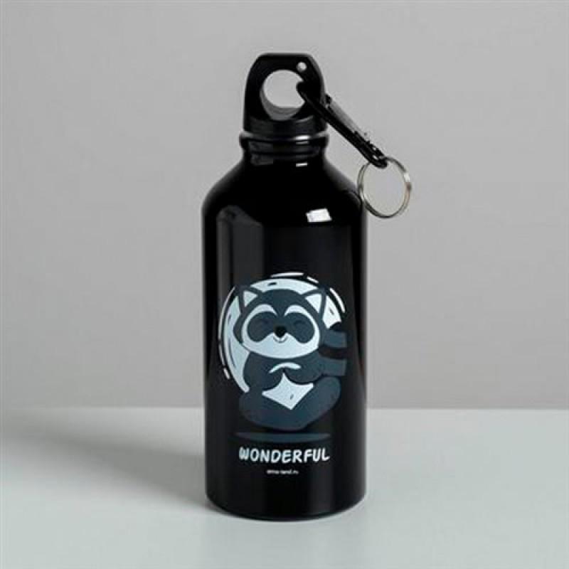 """Бутылка для воды 400мл """"Wonderful"""""""