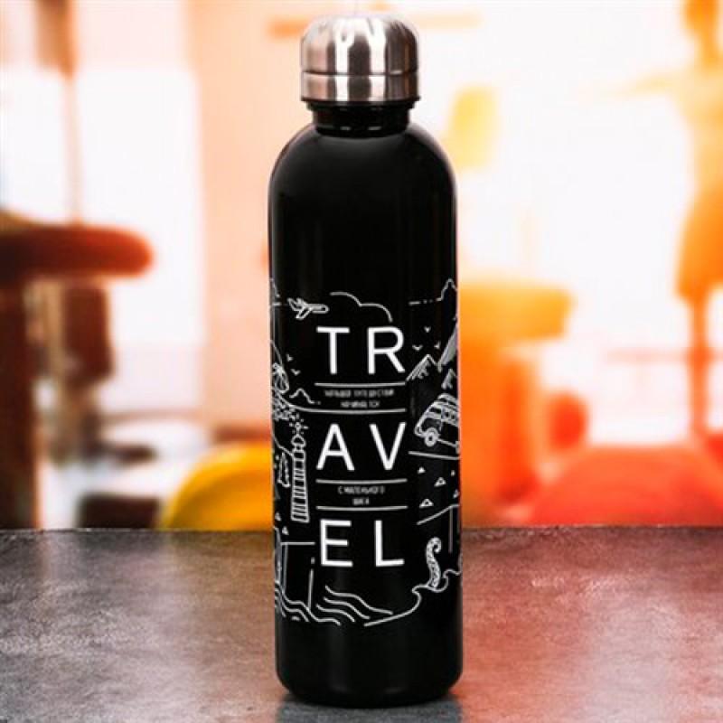 """Бутылка для воды 700мл """"Большое путешествие"""""""