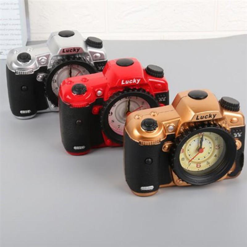 """Часы - будильник """"Фотоаппарат"""""""
