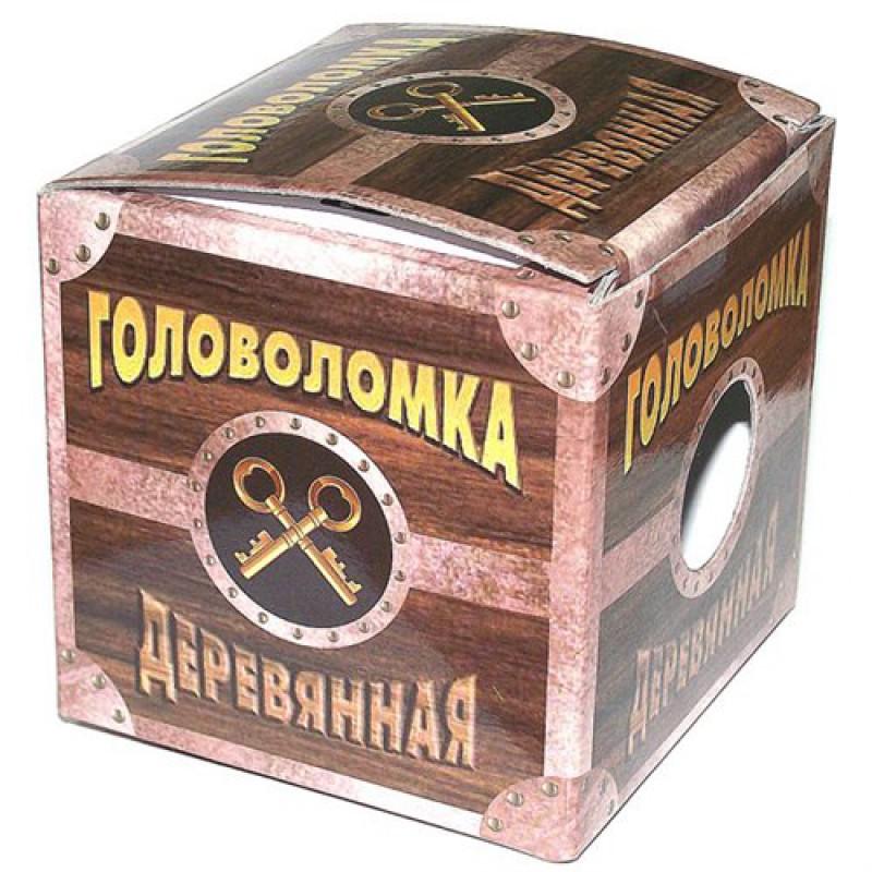 """Головоломка деревянная """"Альфа"""""""