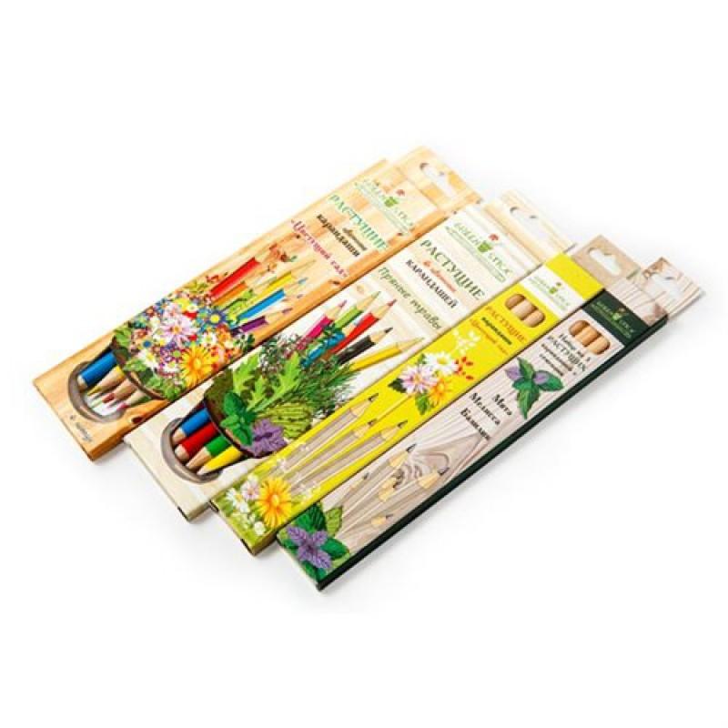 Green Stick цветущий сад (растущие карандаши) - 3 шт