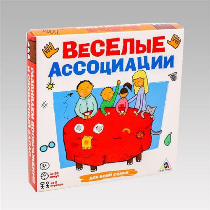 """Игра семейная """"Веселые Ассоциации"""""""