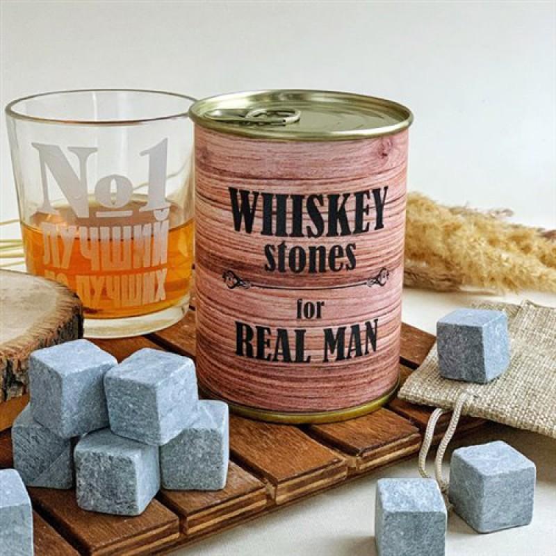 """Камни для виски """"REAL MAN"""", 9 штук"""
