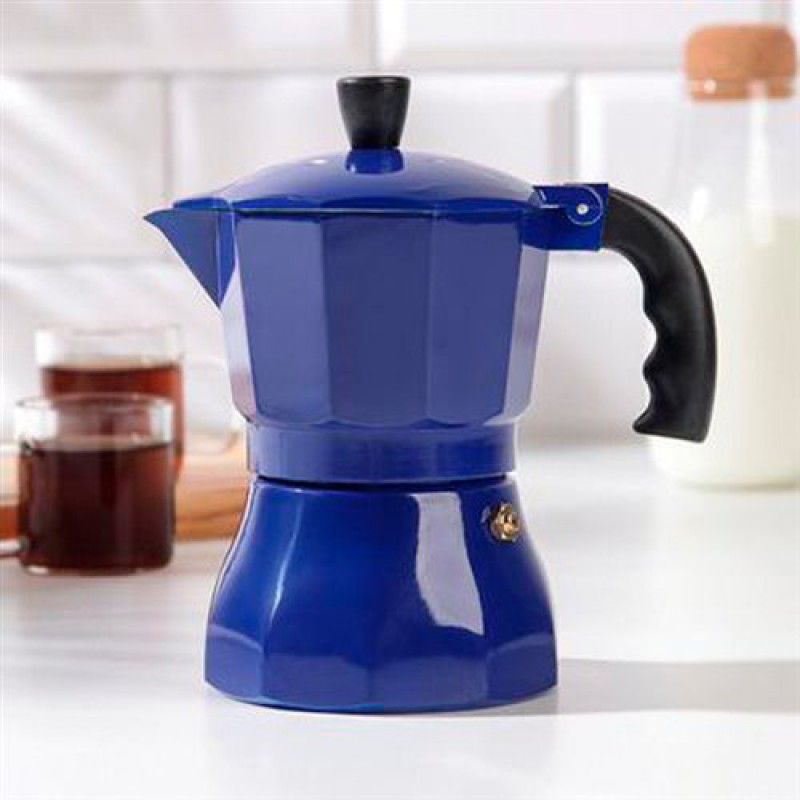 Кофеварка гейзерная, на 3 чашки