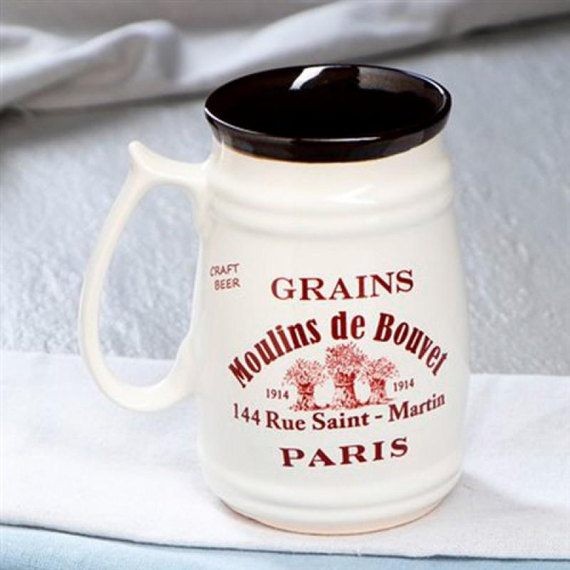 """Кружка пивная """"Moulins de Bouvel"""""""