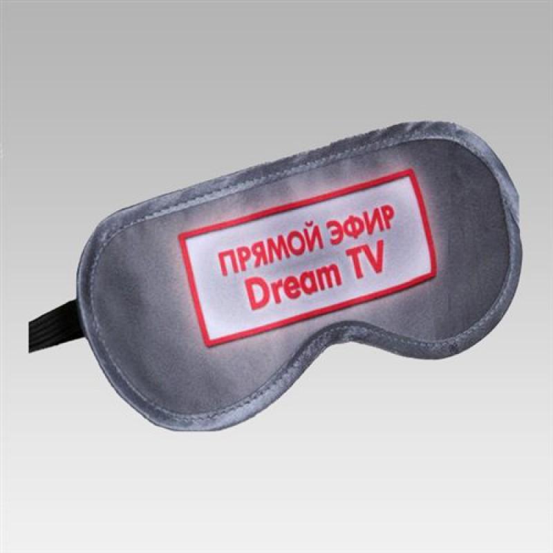 """Маска для сна """"Прямой эфир. DreamTV"""""""