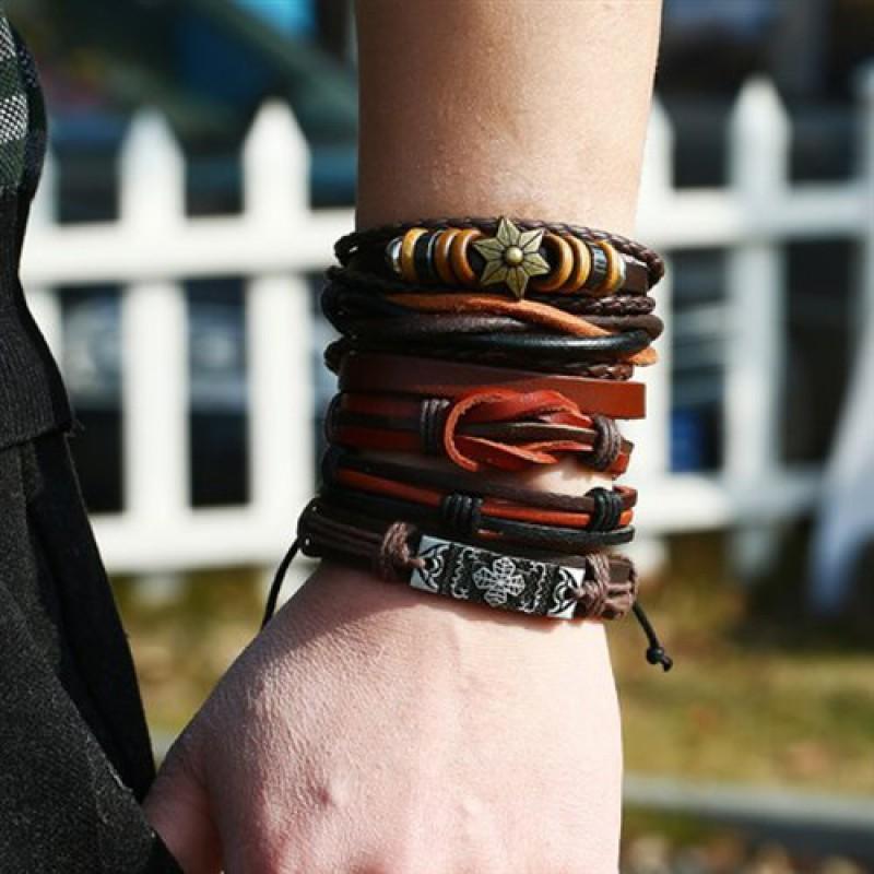 """Набор браслетов """"Tribal"""""""