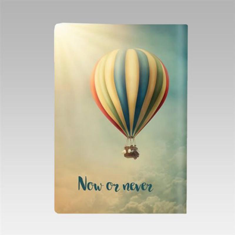 """Обложка для паспорта """"Now or never"""""""
