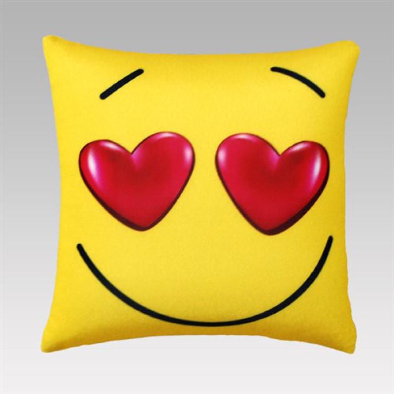 """Подушка """"Влюбленный смайл"""""""