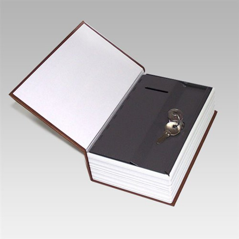 Сейф-книга (средний) с ключами