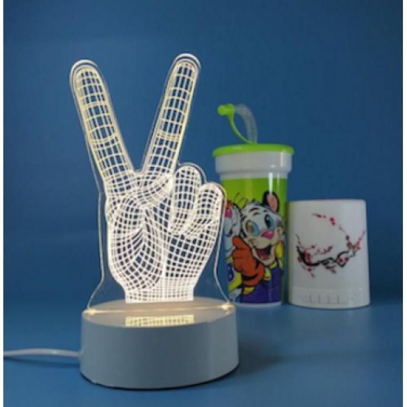 """Светильник """"3D LED - Рука"""""""