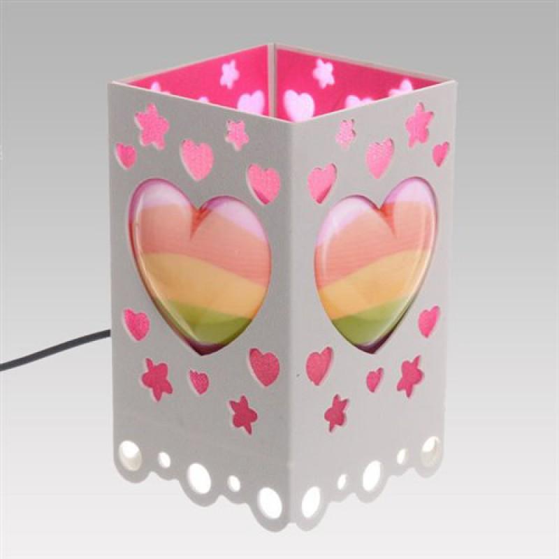 """Светильник """"Love"""" (розовый)"""