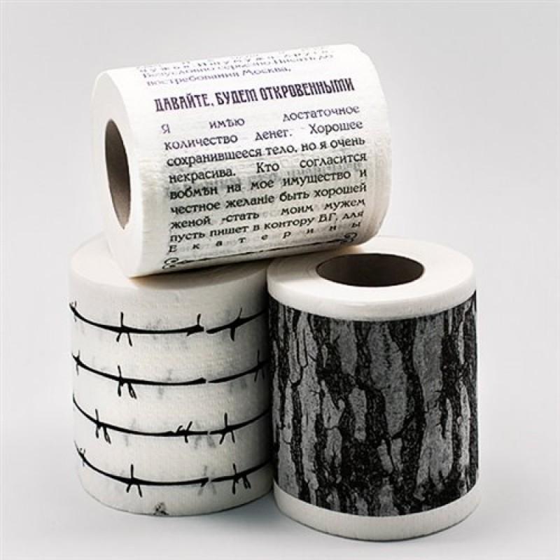 """Туалетная бумага """"Колючки"""""""