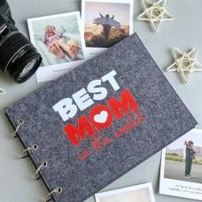 "Фотоальбом ""Best mom"""