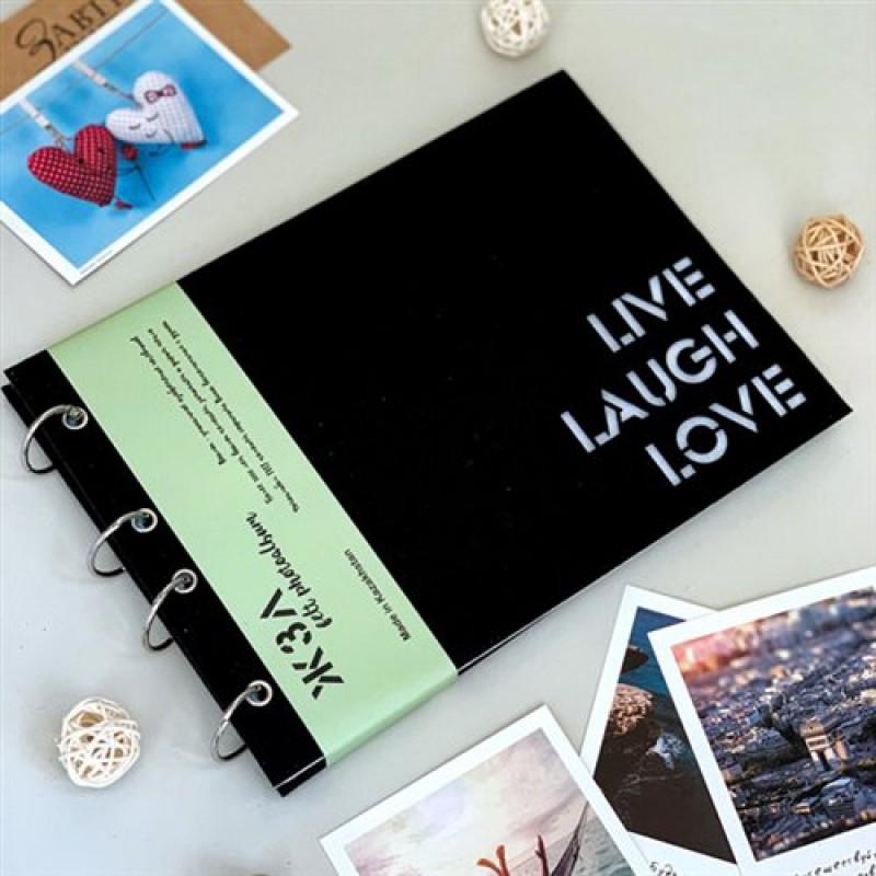 "Фотоальбом ""Live laugh love"" (ЖЗЛ)"