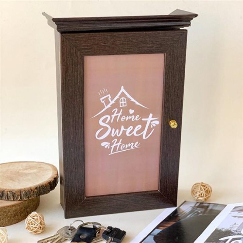 """Ключница настенная """"Sweet Home"""" (темный)"""