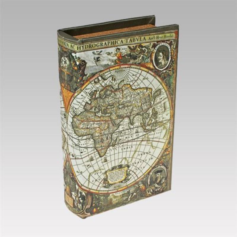"""Книга-сейф """"Карта первооткрывателей"""""""