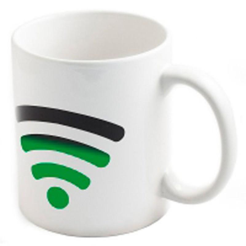 """Кружка хамелеон """"Wi Fi"""""""