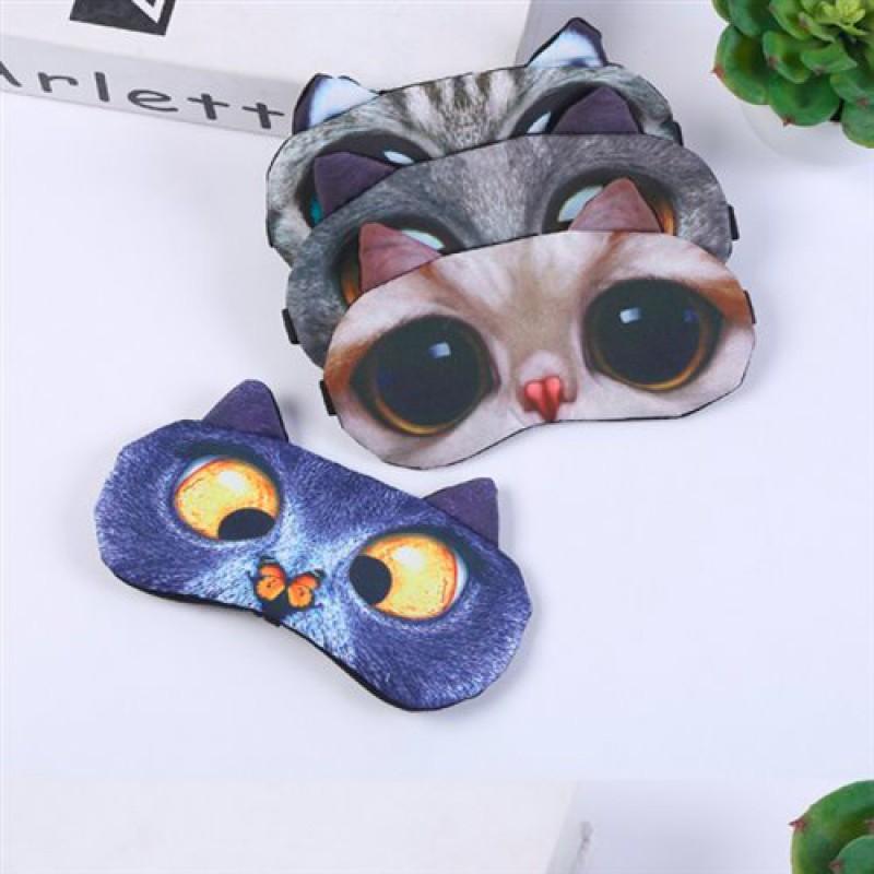"""Маска гелевая """" Глаза кота""""( много видов)"""