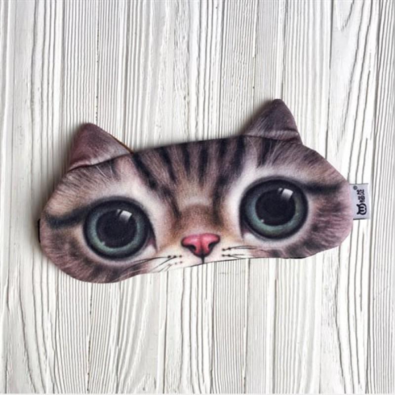 """Маска гелиевая """"Кошачьи глаза"""" (много видов)"""