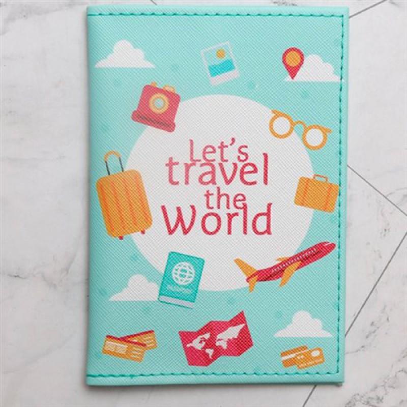 """Обложка для паспорта """"Trevel""""(много видов)"""