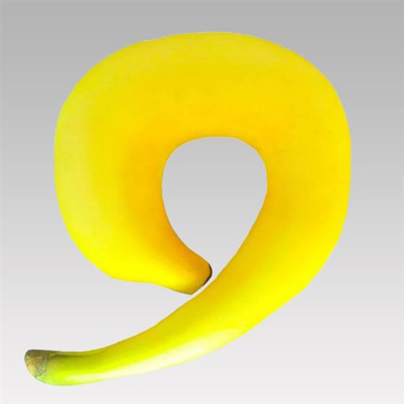 """Подушка под голову """"Банан"""""""