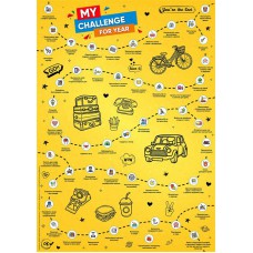 Скретч-постер «Мои дела на 1 год»